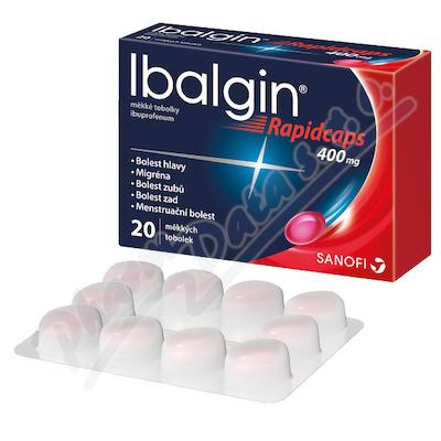 Ibalgin Rapidcaps 400mg cps.mol.20