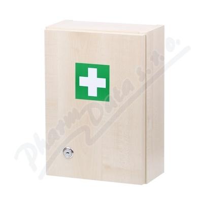 Lékárnička - dřevěná 330x230x120mm prázdná