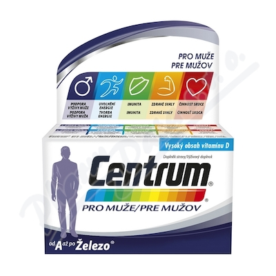 Multivitamin Centrum pro muže 30tbl