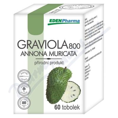 Edenpharma Graviola 800 tob.60