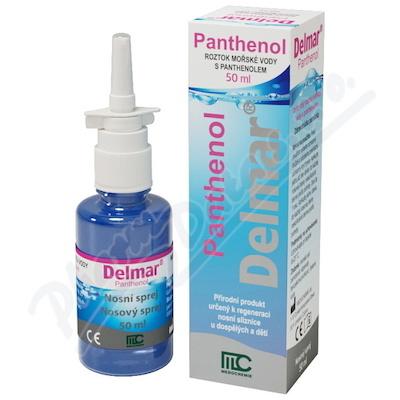 Delmar Panthenol nosní sprej 50 ml