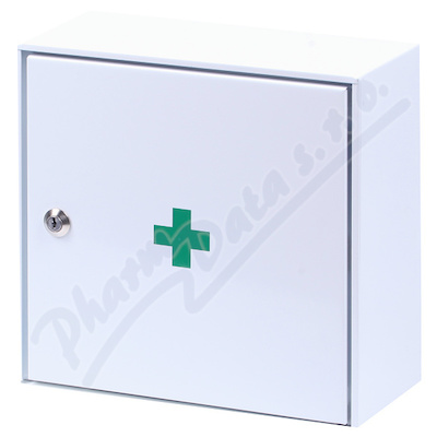 Lékárnička - nástěn.s náplní do20osob-ZM20 kovová